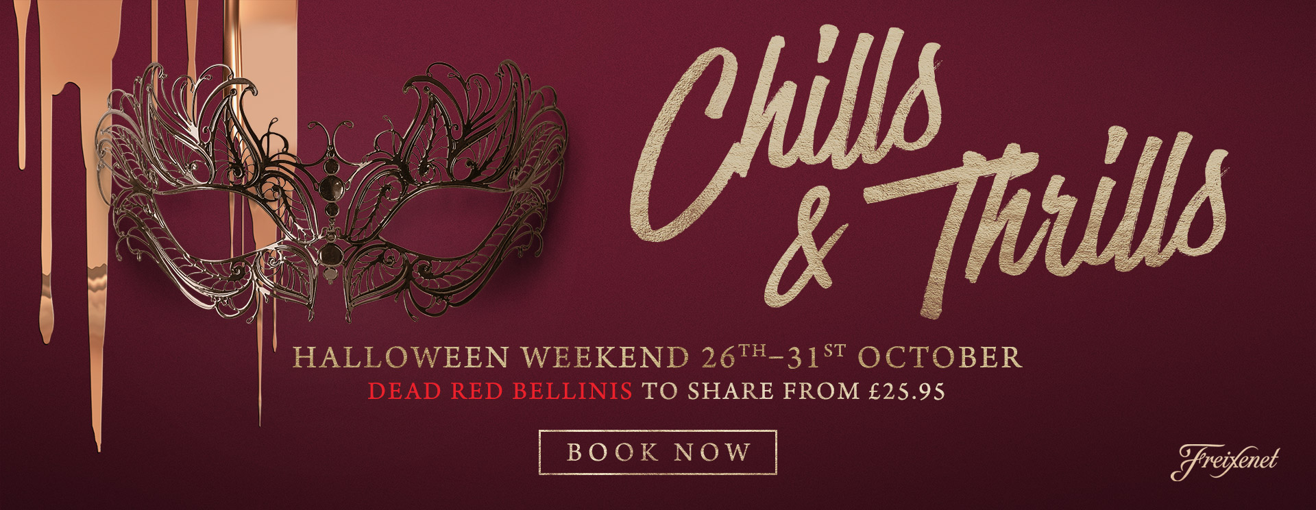 Chills & Thrills this Halloween at The Dukes Head